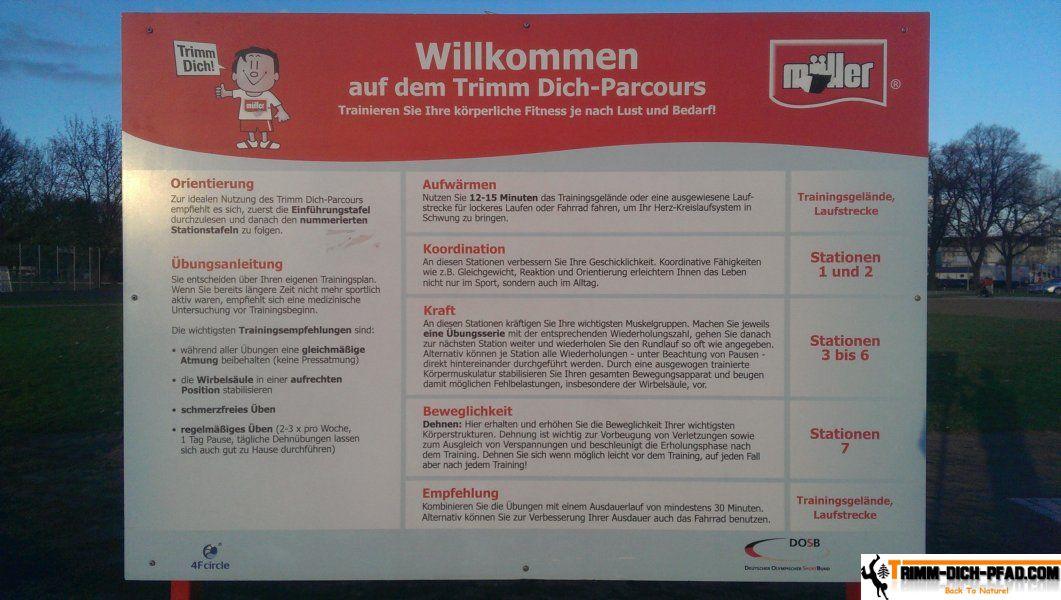 Bewegungsparcours Dresden - Trimm-Dich-Pfad